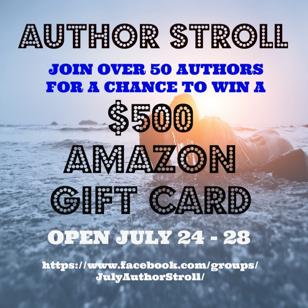 Author Stroll Promo Graphic